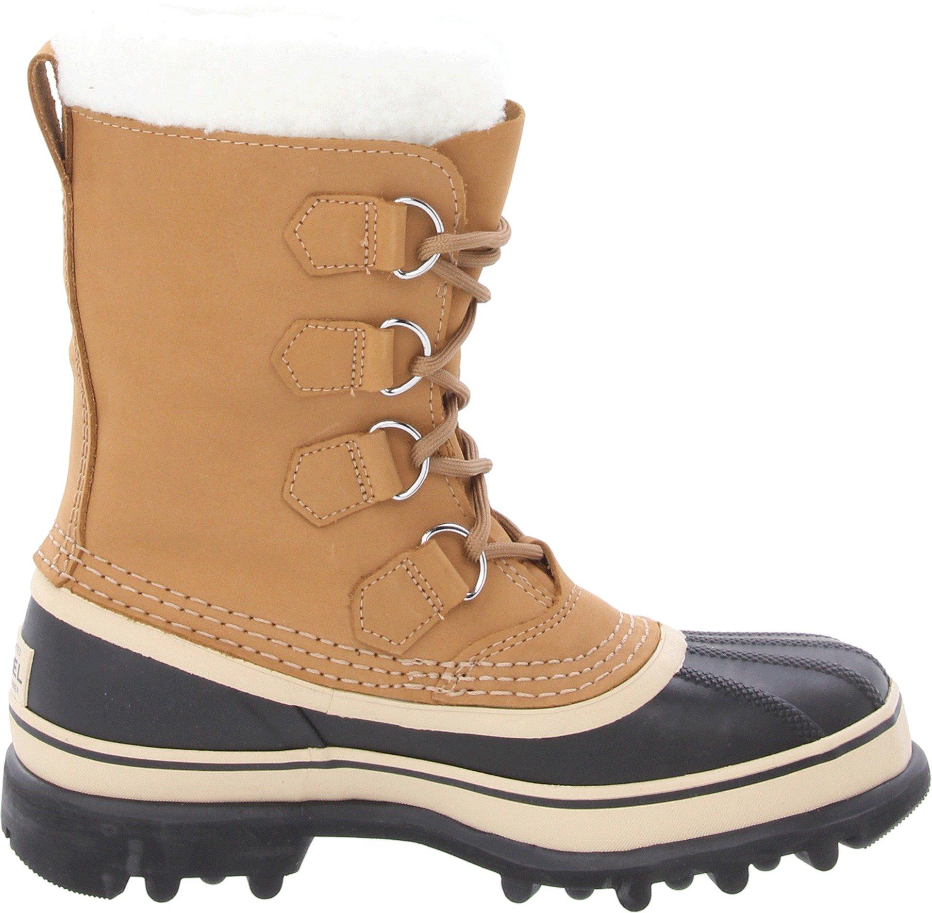 SOREL Women's Caribou NL1005 Boot,Buff,10 M by SOREL (Image #7)
