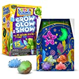 Learn & Climb Crystal Growing kit for Kids. Science Experiment Kit - 10 Crystals!!
