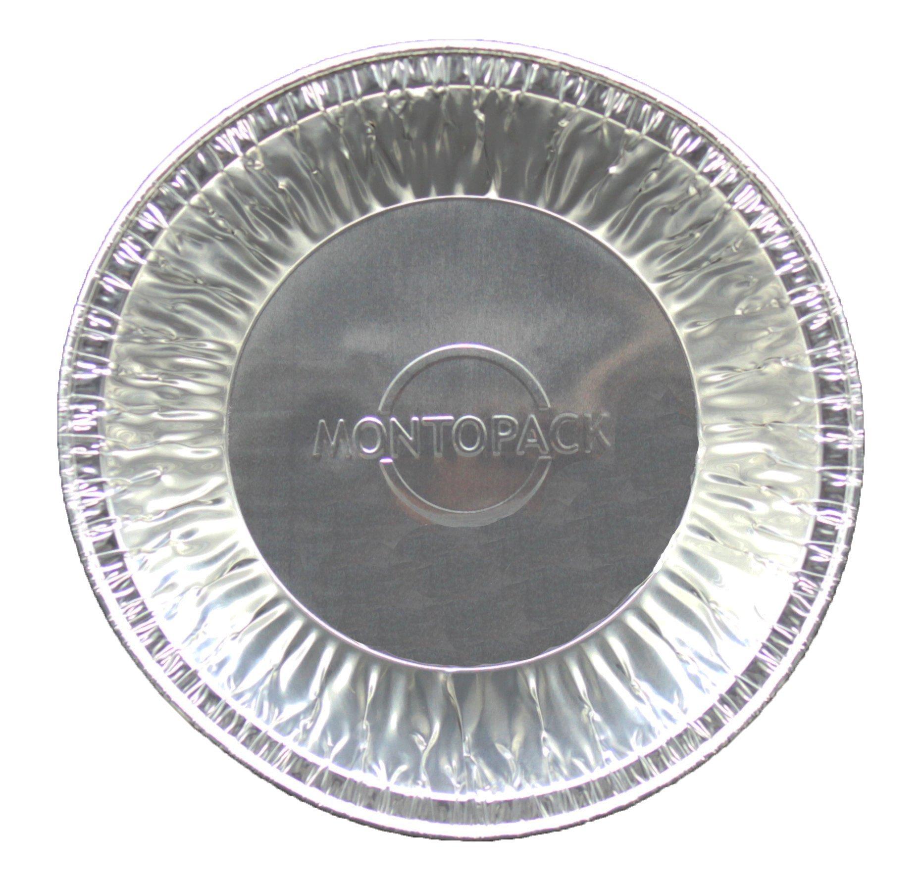 MontoPack Disposable 5'' Aluminum Foil Tart/Pie Pans (50 Pack) by MontoPack (Image #2)