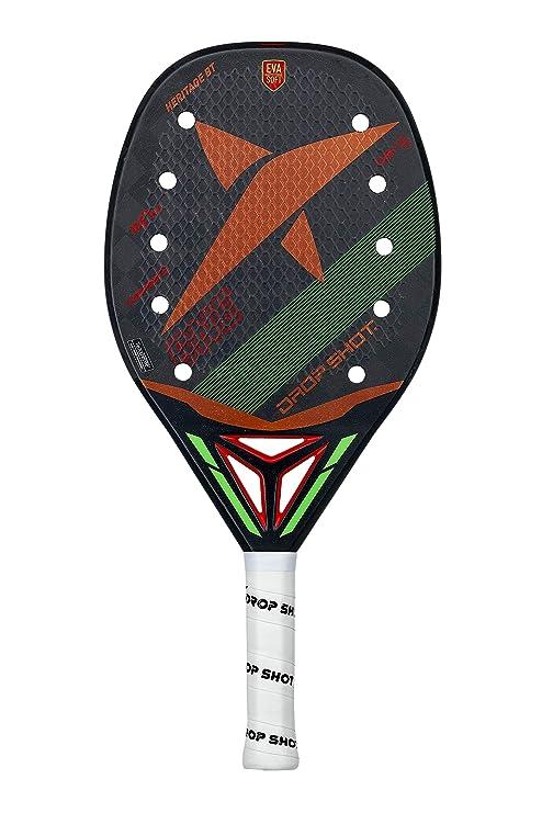 DROP SHOT Pala de pádel Modelo Heritage Beach Tennis-Colección Oficial 2019