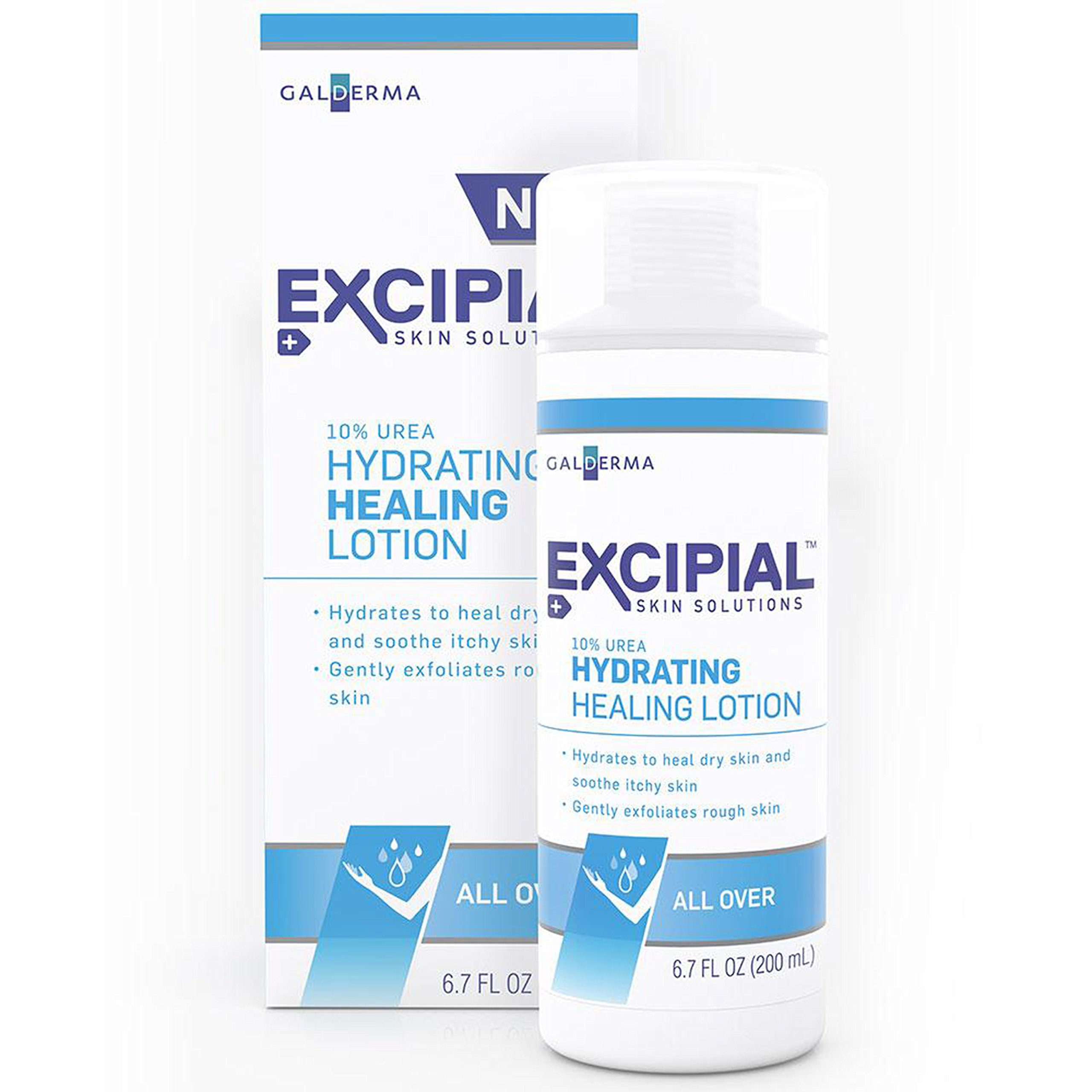 Excipial Urea Hydrating Healing Lotion, 6.7 Ounce (Pack of 2) by Excipial