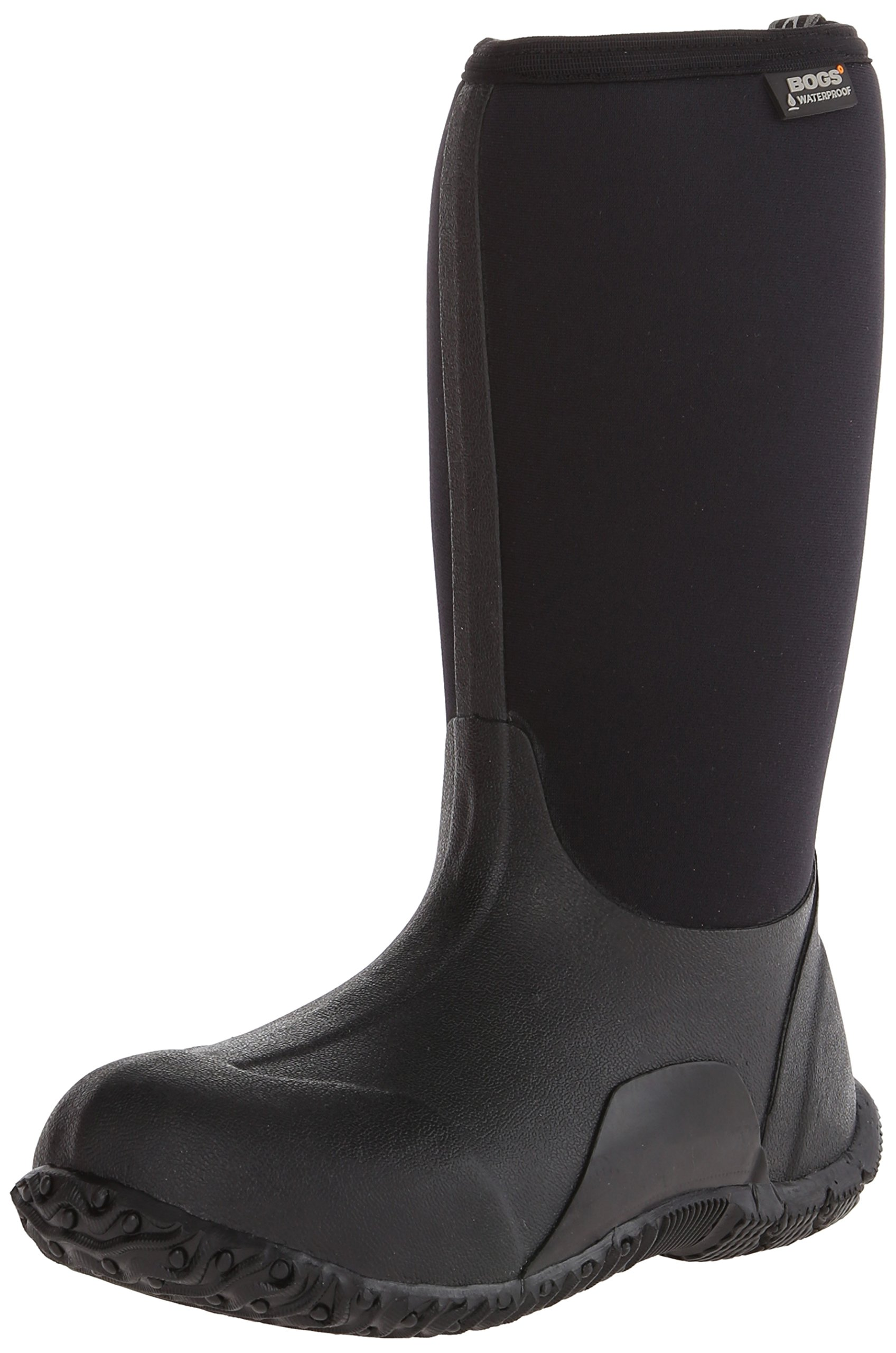Bogs Classic No Handles Waterproof Insulated Rain Boot (Toddler/Little Kid/Big Kid),  Black, 3 M US Little Kid by Bogs (Image #2)