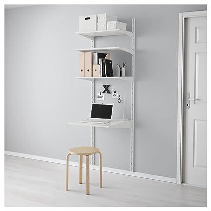 IKEA Algot - pared vertical / estantes blancos: Amazon.es: Hogar