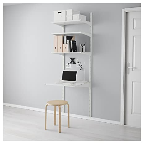 IKEA Algot - pared vertical / estantes blancos