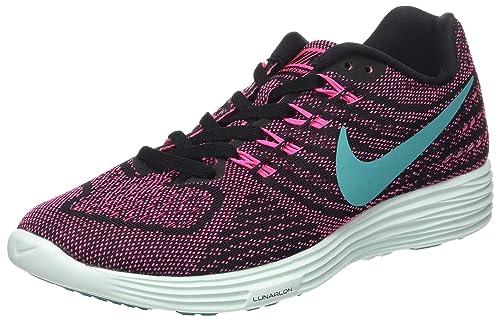 53e0d35d2236 Nike Women s Lunartempo 2 Pink Blast Clr Jd Black Brly Grn Running Shoe