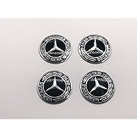AOWIFT Emblema 3D para Volante para Mercedes-Benz Nuevo