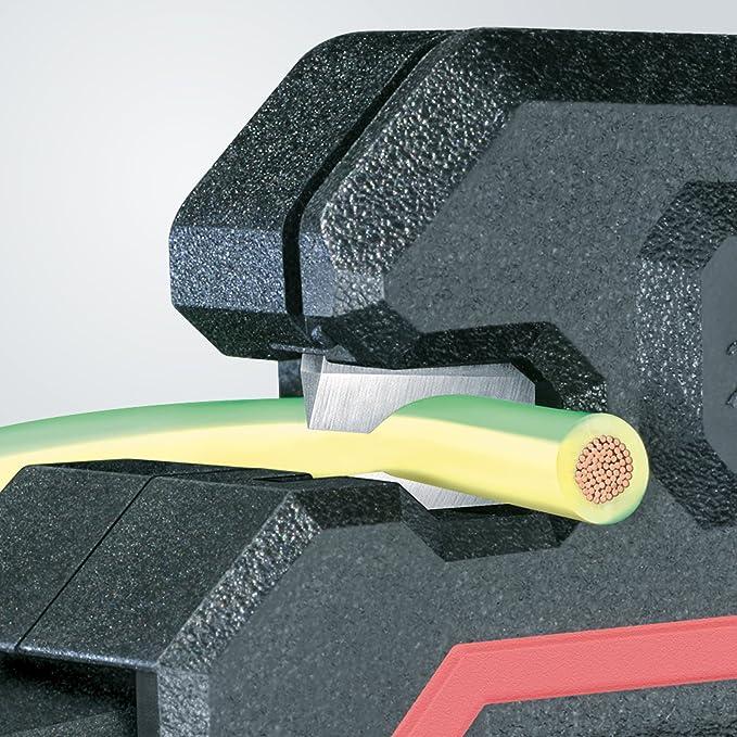 Knipex 7654700005 Alicates Pelacables, 180 mm: Amazon.es: Bricolaje y herramientas