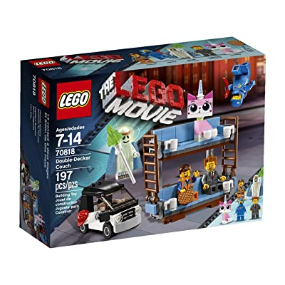 Lego 70818 Double-Decker Couch Set, 197-Pieces: Toys & Games
