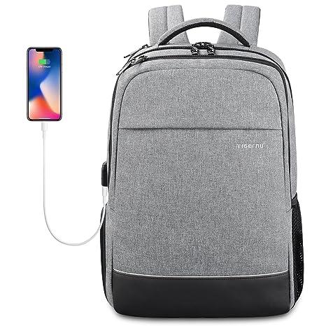 bd178f93eb5d KUPRINE Business Laptop Backpack for Women Mens Water Resistant College  School Laptop Slim Backpack Travel Bag Fits 15 15.6 inch Notebook Computers  ...