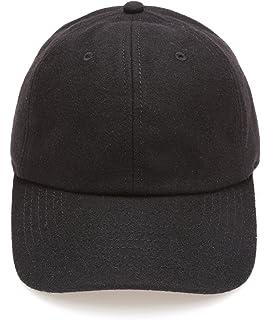 a32b1a0b VOBOOM Men's Wool Blend Baseball Cap Herringbone Tweed Ball Cap ...