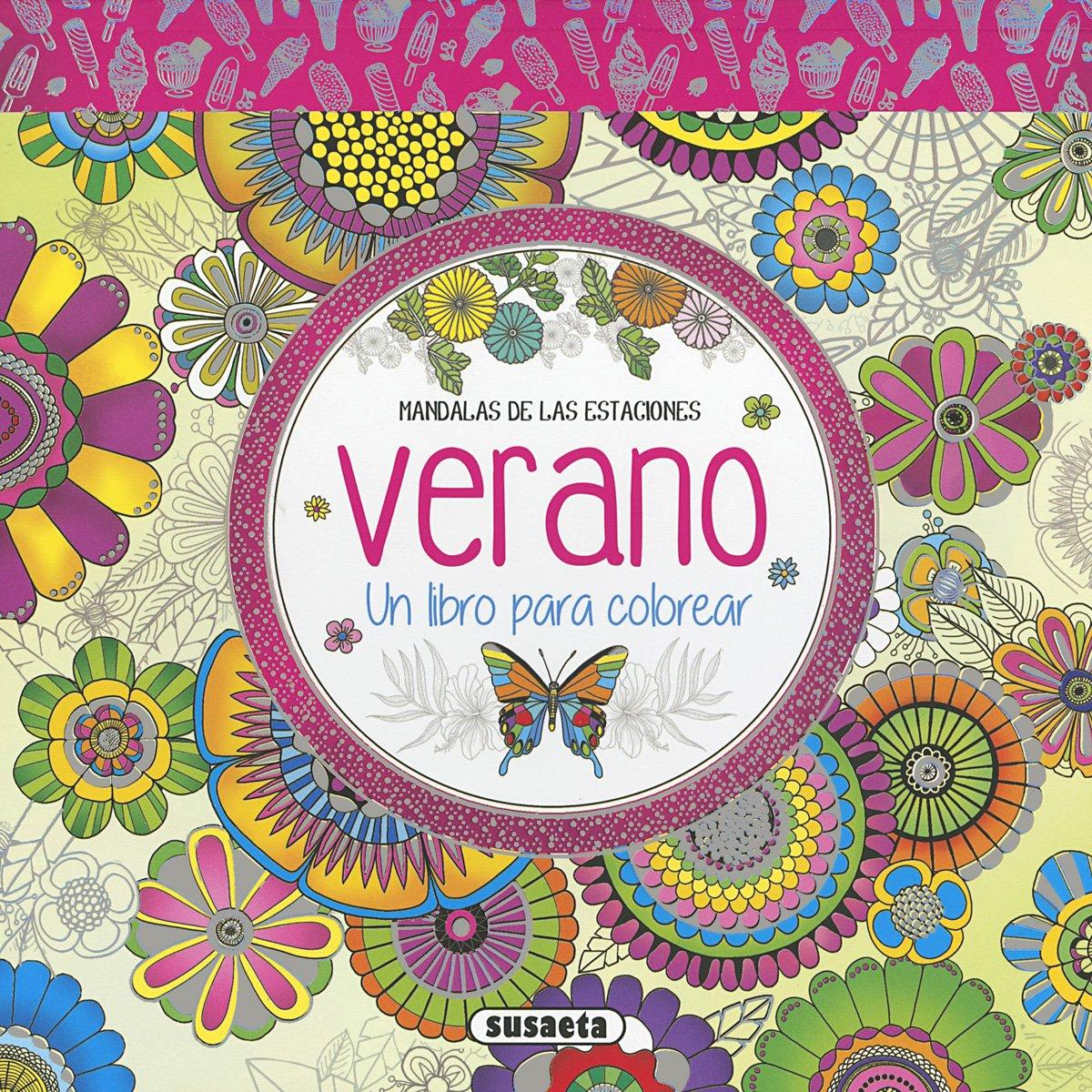 Verano. Un libro para colorear Mandalas de las estaciones: Amazon.es ...