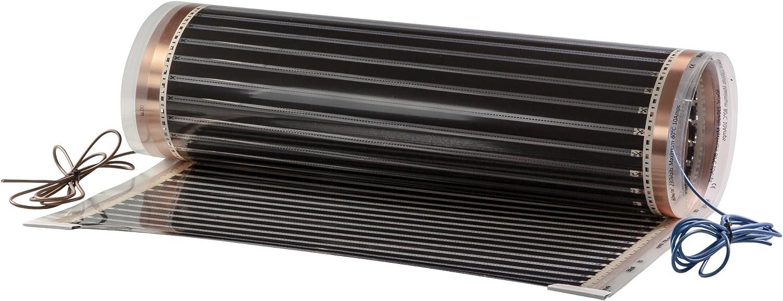 matec fgp-2410de 80/0, 5x 1, 0m suelo radiante eléctrico (pantalla de calefacción por infrarrojos, 40W, 230V