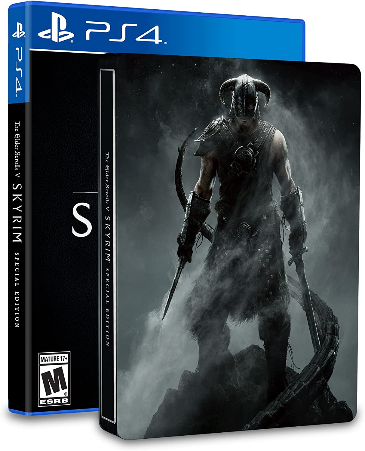 Amazon com: The Elder Scrolls V: Skyrim SteelBook Edition