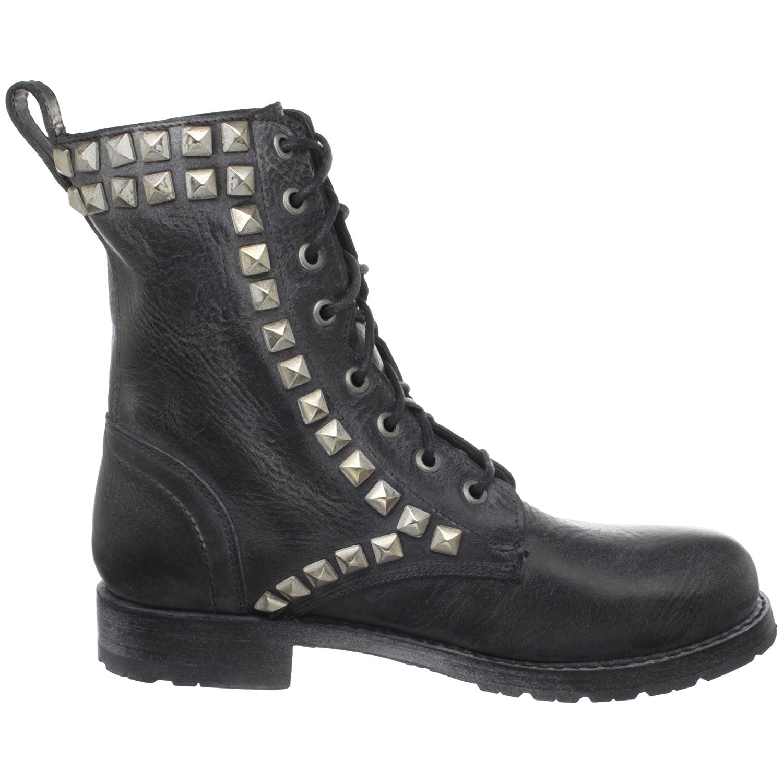 3768L anfibi neri Mujer FRYE rogan studi studi studi pace tall stivali scarpe Botas Zapatos Mujer 10c6e8
