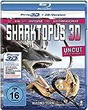 Sharktopus (Uncut) [3D Blu-ray + 2D Version]