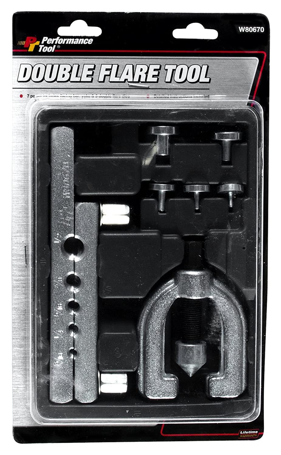 Performance Tool W80672 ISO Bubble Flaring Tool Set Null