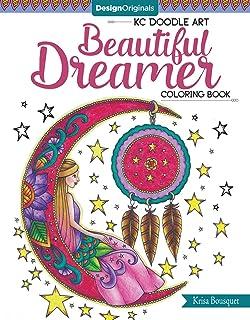 Amazon.com: KC Doodle Flower Girls Coloring Collection (Kc Doodle ...