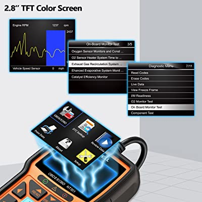 FOXWELL NT301 Enhanced Car Obd2 Code Scanner