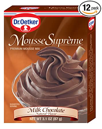 Image Unavailable Not Available For Color Dr Oetker Milk Chocolate Mousse Supreme