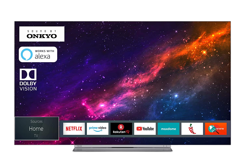 [amazon.de] Toshiba 55X9863DA OLED 4k Fernseher um 931,44€ anstatt 1.035€