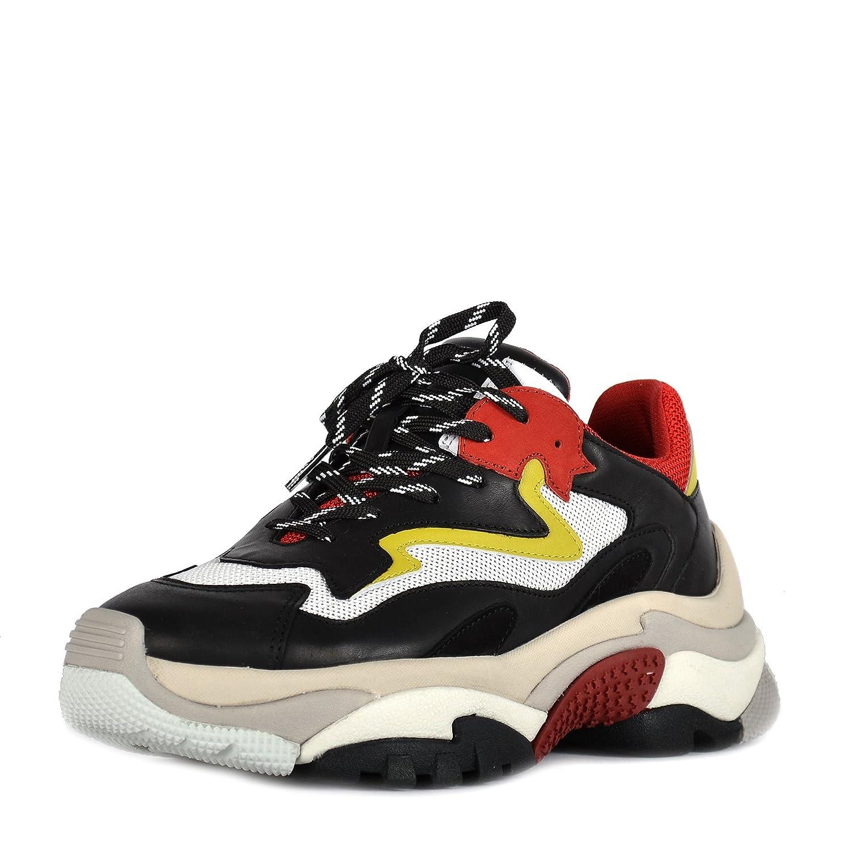 Ash Zapatos Addict Zapatillas Rojo y Negro Mujer 36 EU Rojo/Negro