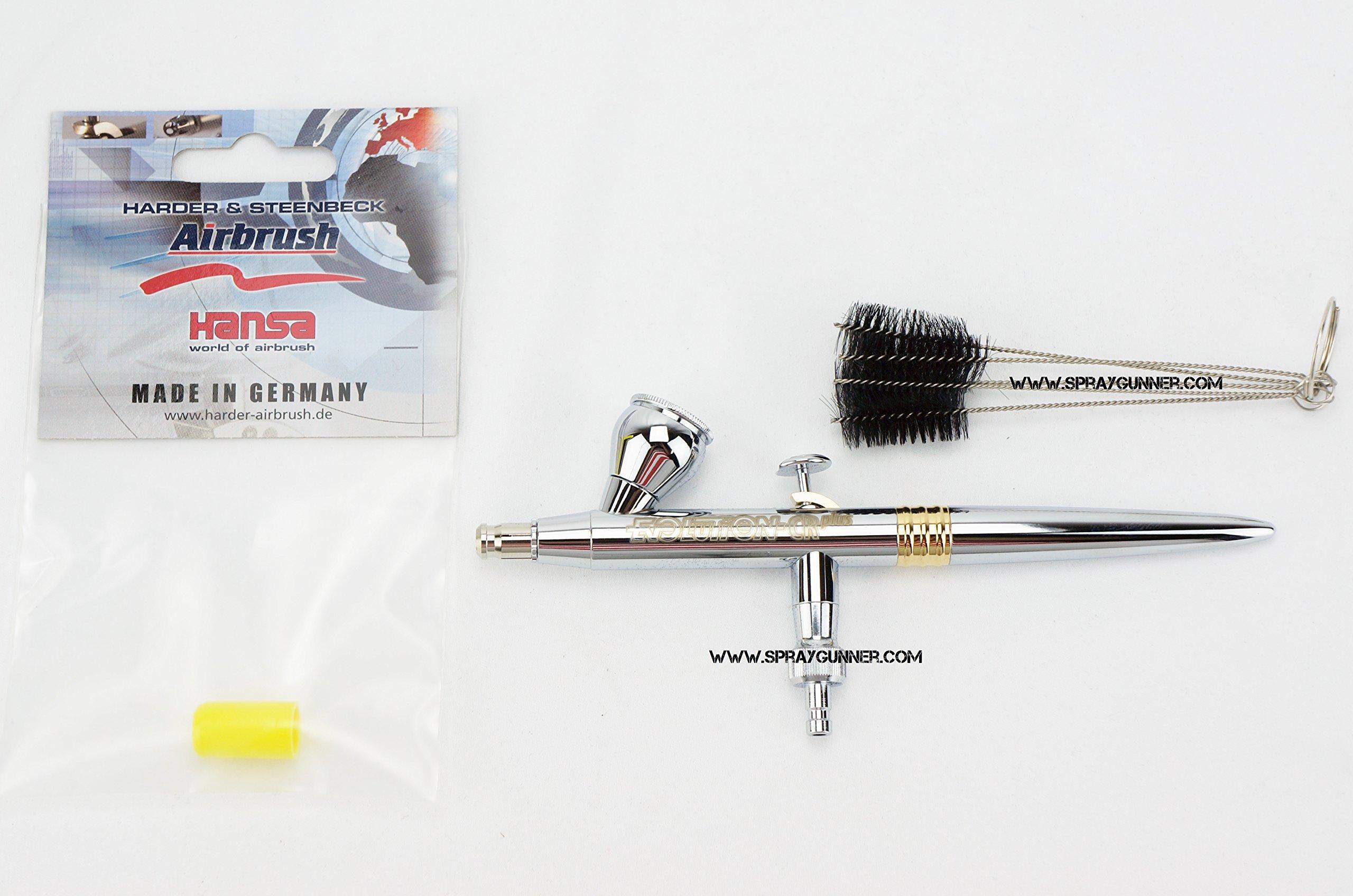 Harder & Steenbeck Evolution CR Plus 0.15mm Airbrush 126204 by SprayGunner