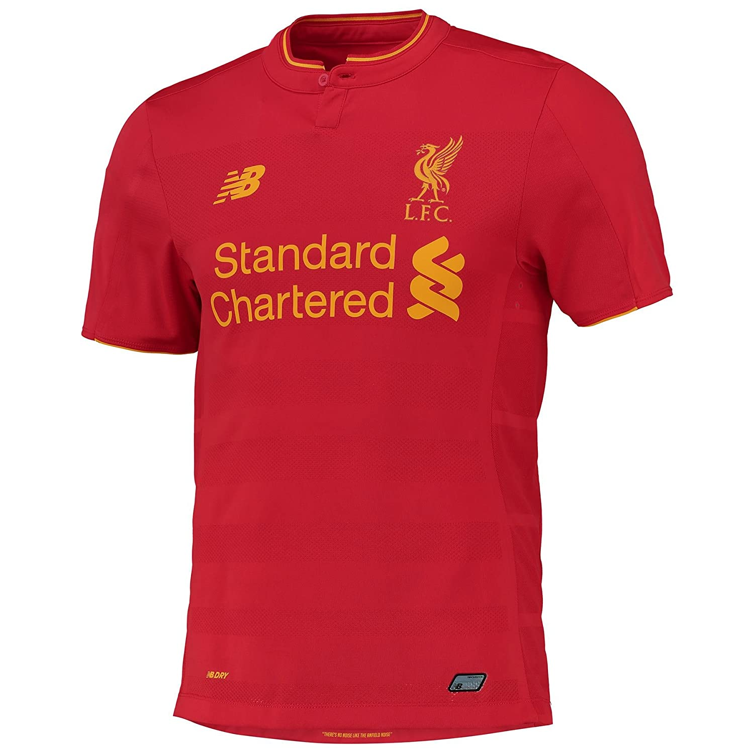 Liverpool FC 16 17 Authentic Home S S Football Shirt - High Risk ROT - Größe M