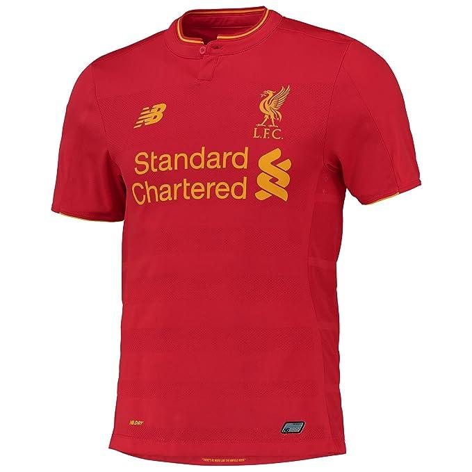 Liverpool FC 16/17 Auténtica Home S/S camiseta de fútbol, hombre,