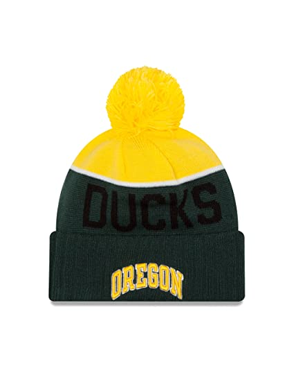 79e3ae863f1 Amazon.com   NCAA Oregon Ducks Youth Ne 15 Sport Cuff Knit Beanie ...
