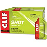 CLIF SHOT - Energy Gels - Citrus Flavor - 25mg Caffeine (1.2 Ounce Packet, 24 Count)