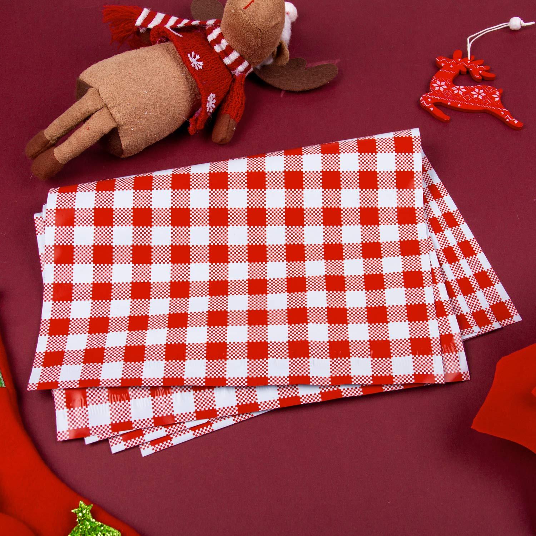 Paquete De 50 RUSPEPA 26X33 CM Poly Mailers Bolsas De Env/ío Kiss Notes Labios Rojos Poly Mailers 2.3 Mil Heavy Duty Self Seal Sobres De Correo