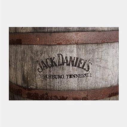 Amazon.com: eFrame Fine Art | Jack Daniels Barrel Man Cave by Robert ...