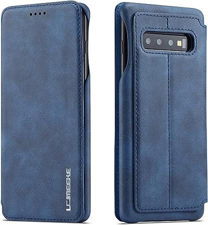 Qltypri Hülle Für Samsung Galaxy S10 Premium Pu Leder Elektronik