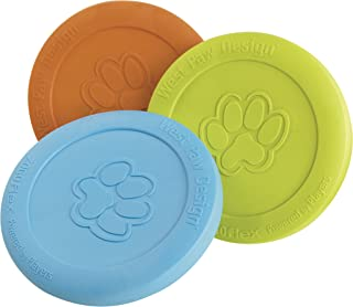 product image for West Paw Design Zogoflex Dog Toy, Zisc, Colors Vary