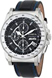 Breil Milano Men's TW0791 Manta Chronograph Ion-Plating Bezel Luminous Hands Watch