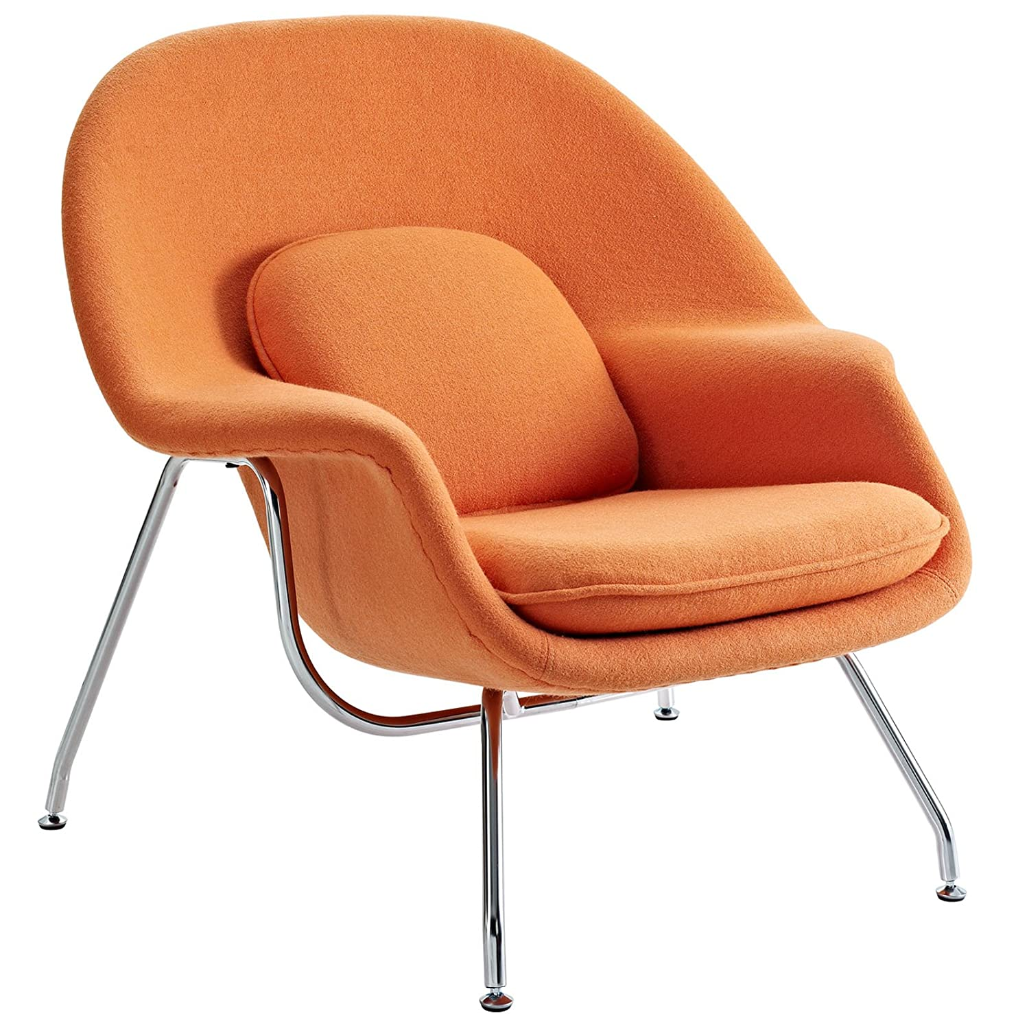 Amazon Modway Eero Saarinen Style Womb Chair and Ottoman Set