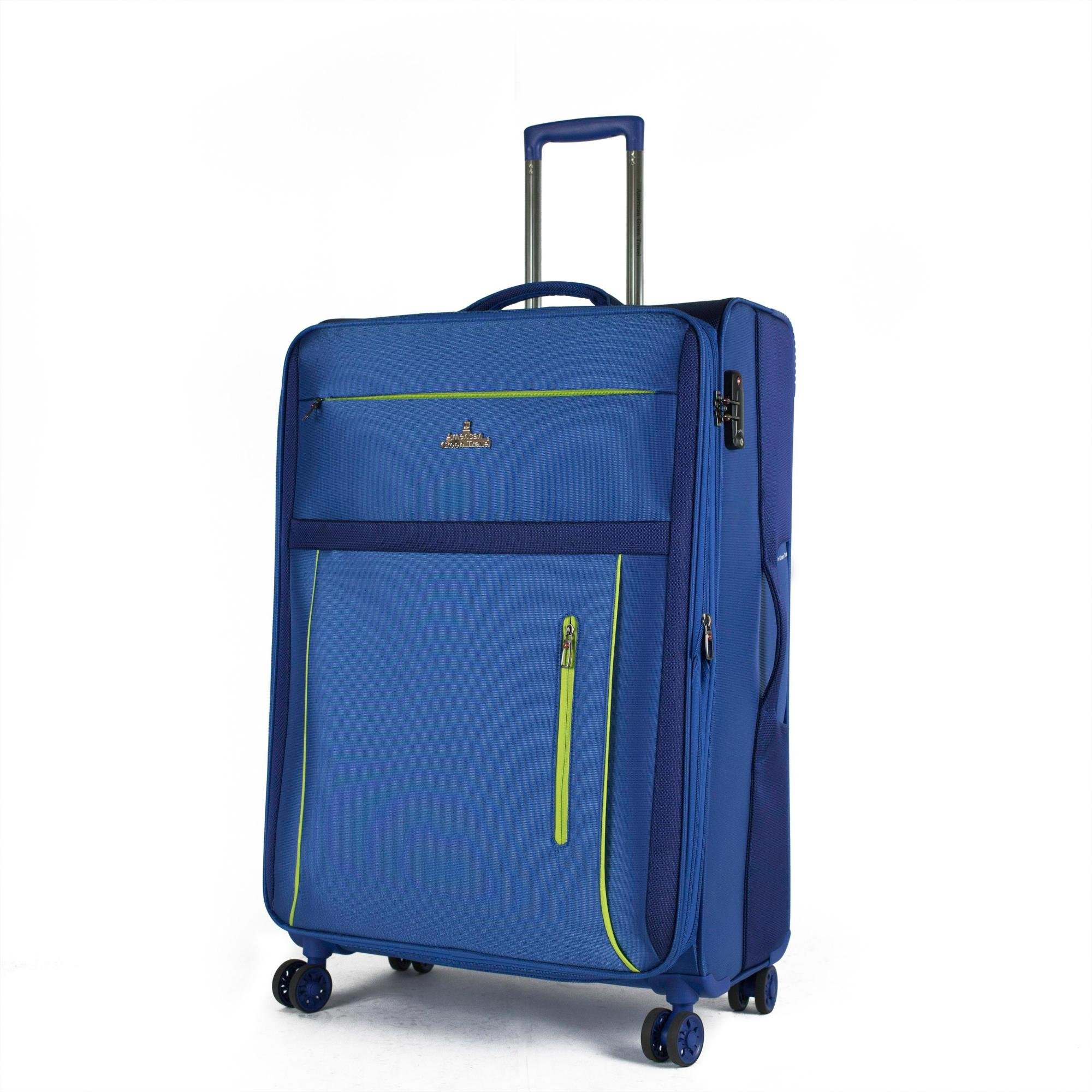 American Green Travel Soteria Luggage Set, Blue