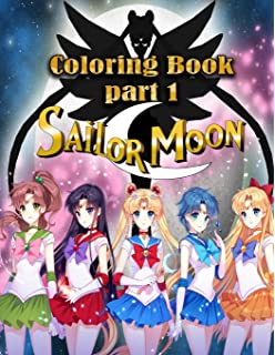 Amazon.com: Sailor Moon Coloring Book: for Anime Lovers (40 ...