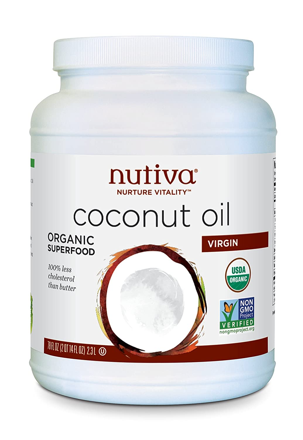 Image result for nutiva coconut oil;