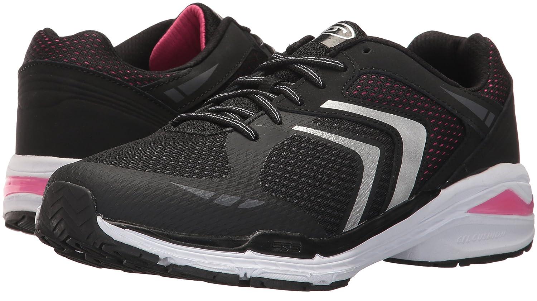 Dr. Scholl's Shoes Women's Blitz Fashion Sneaker B06Y1HD7DR 10 B(M) US|Black/Pink