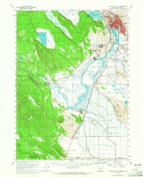 Amazon.com: YellowMaps Klamath Falls OR topo map, 1:62500 Scale, 15 on corvallis or map, milton freewater or map, culver or map, lake county or map, douglas county or map, waldport or map, medford or map, mitchell or map, eugene or map, lane county or map, brookings or map, bend or map, roseburg or map, tidewater or map, huntington or map, hermiston or map, hood river or map, lakeview or map, boring or map, prineville or map,