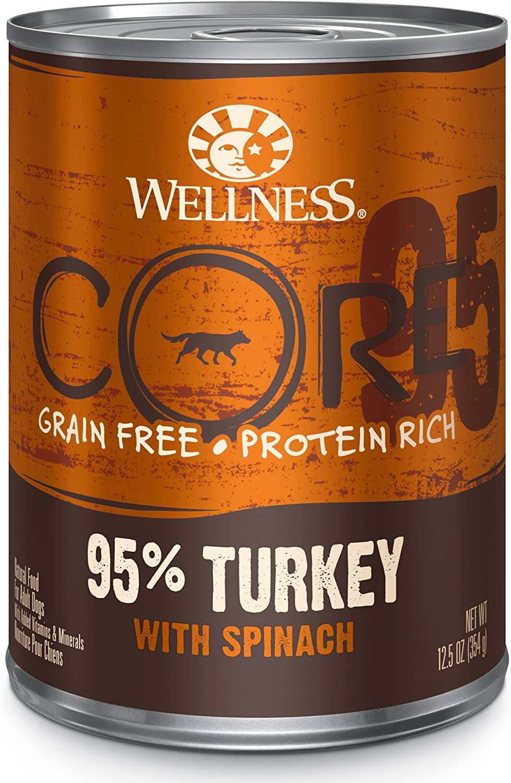 Wellness CORE 95% Grain Free Wet Dog Food