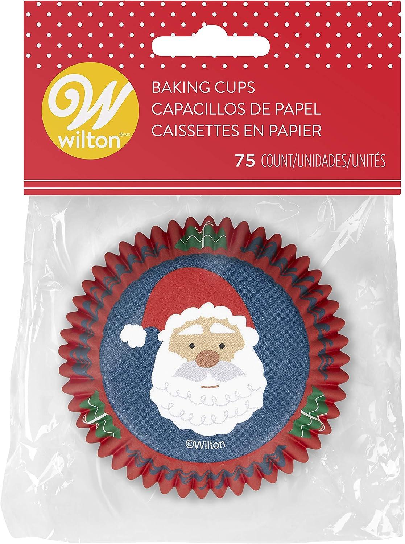 Non-Food Items 415-0-0109 Standard Baking Cups Santa CLAU