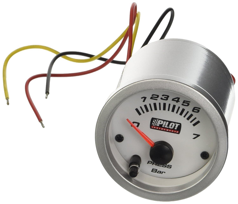 oil pressure gauge w//led lighting 7 colors