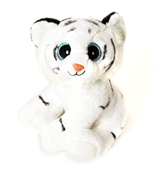 Fieras - Peluche Tigre blanco 30cm - Calidad super soft