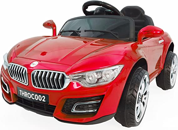 Toy House Fanzy Luxurious Rechargeable Battery Painted Ride-on Car, Red