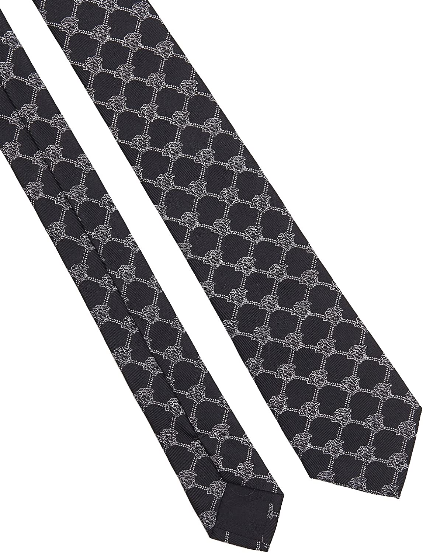 Versace Corbata - para hombre Negro negro Talla única: Amazon.es ...