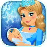 elsa baby games - Ice Princess Newborn Baby & Mommy - Frozen Kids Maternity Doctor Games FREE