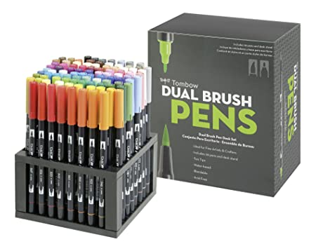 Tombow ABT Dual Brush Pen Set Pack Of Amazoncouk Kitchen Home - Tombow abt