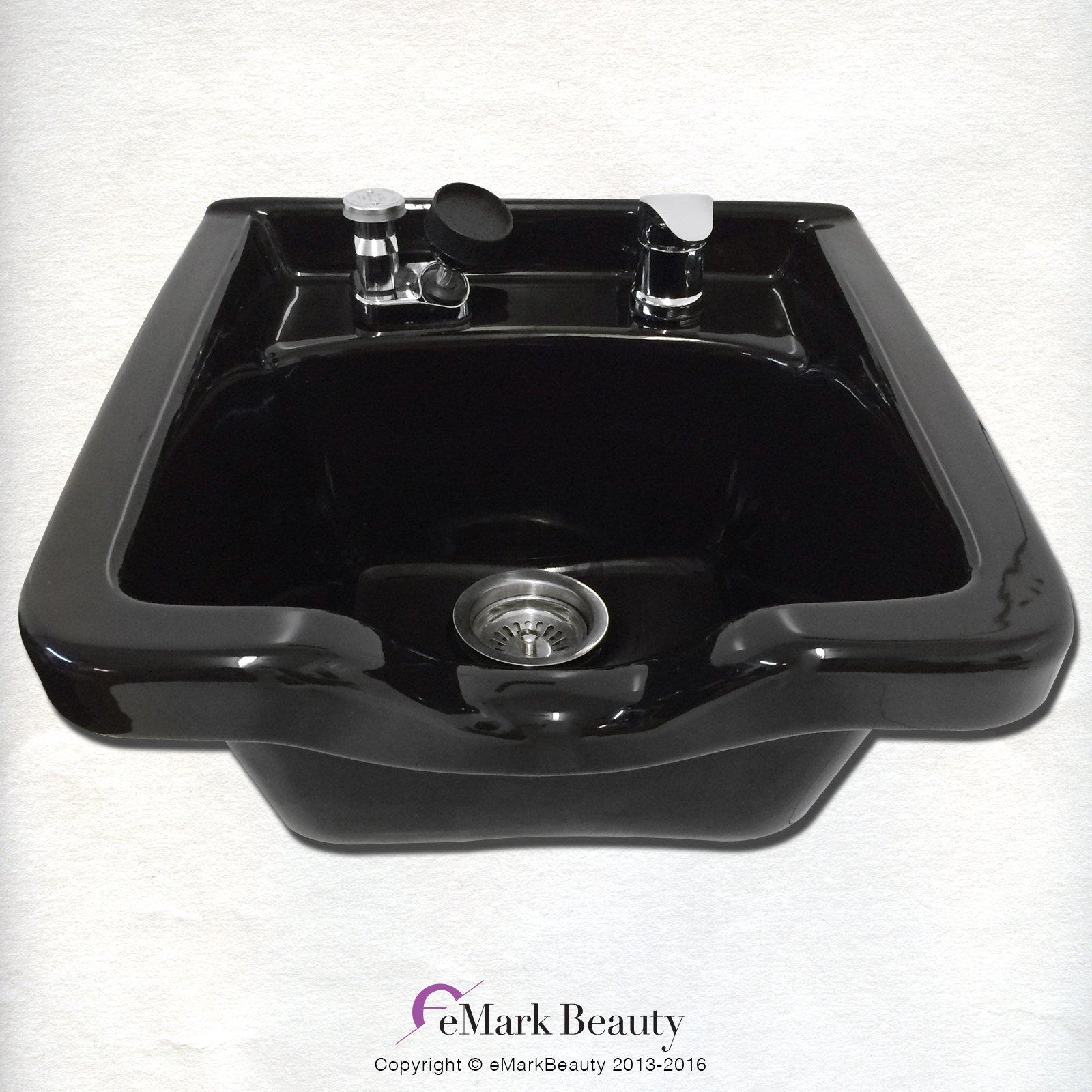 Amazon Com Black Salon Styling Cabinet Shampoo Station